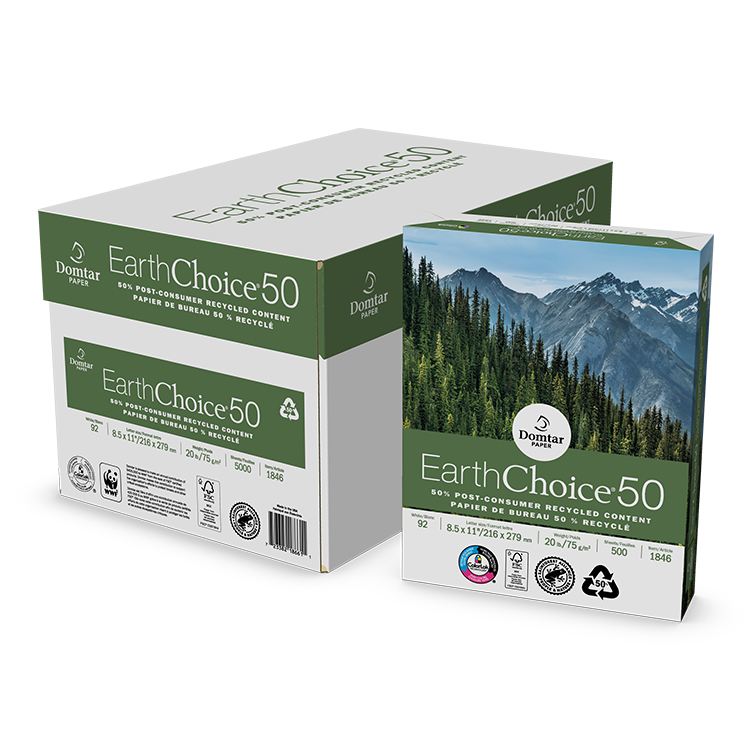 EarthChoice 50 Recycled Office Paper Product Image