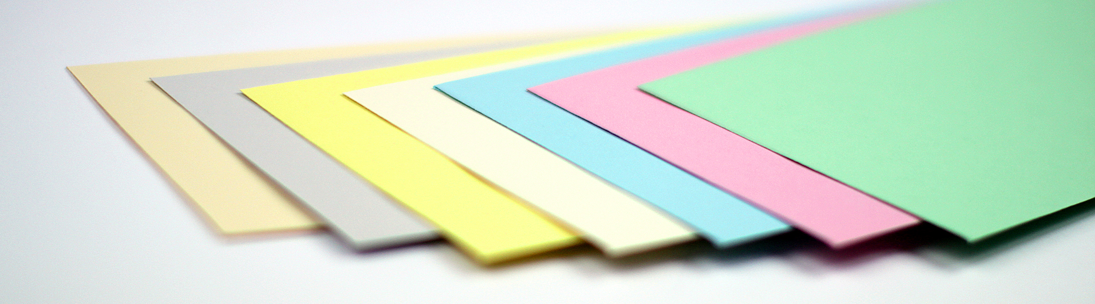 Envelopes made  with EarthChoice Envelope Colors Paper by Domtar