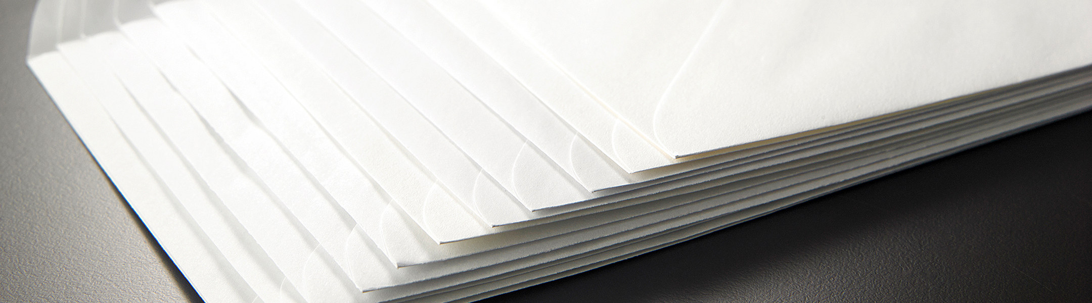 Envelopes made  with EarthChoice Envelope Paper by Domtar