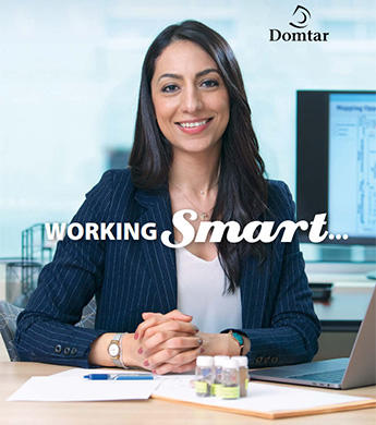 Cover of Domtar Sustainability Report 2017