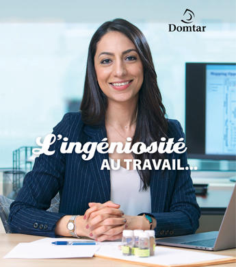Cover of Domtar Sustainability Report 2018_French