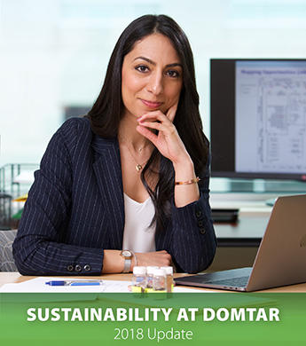 Cover of the 2018 sustainability update