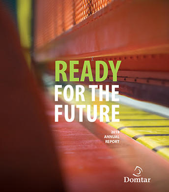 Domtar annual report cover