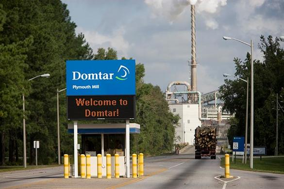 Domtar Location Plymouth