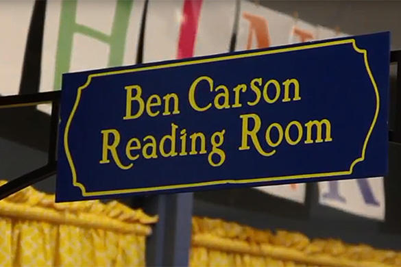 Ben Carson Reading Room video