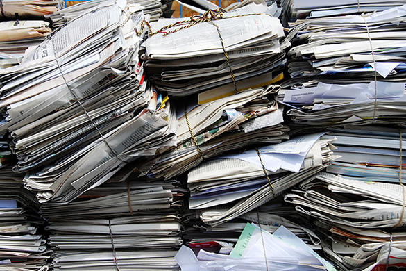 The Limits of Recycling Paper Video
