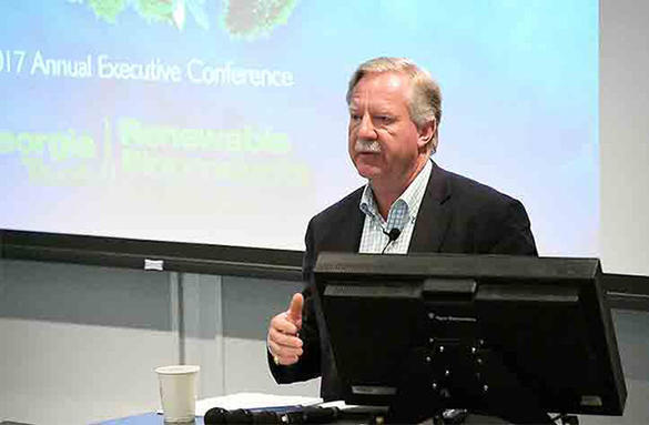 keynote address at the Renewable Bioproducts Institute's Executive Conference