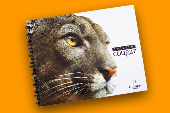unleash cougar, cougar paper, heavyweight paper